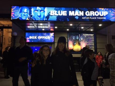 NYC Blue Man Group Kris Jade 2017